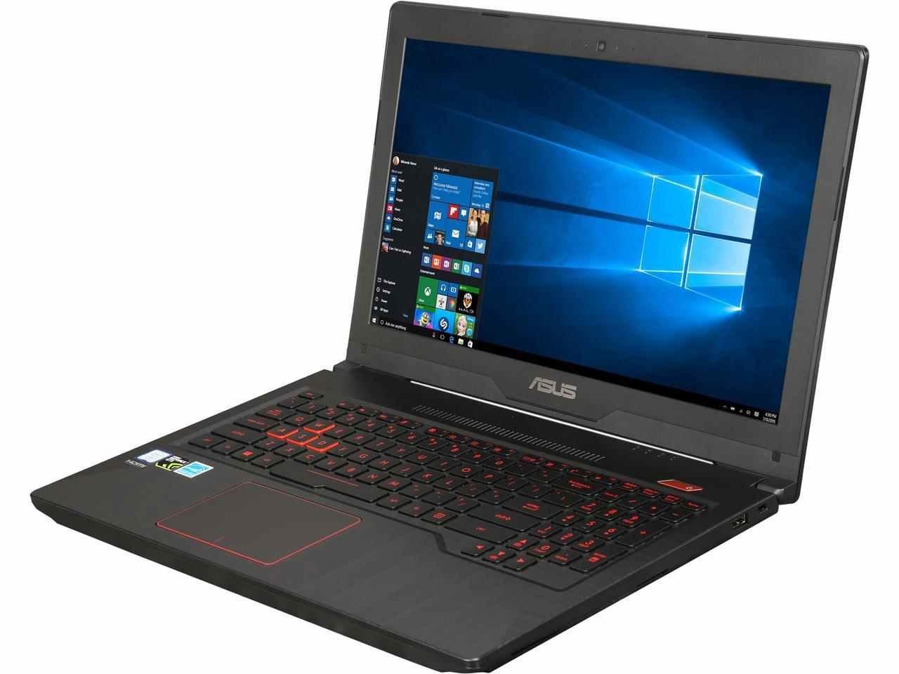 "ASUS FX503VD-EH73 High Performance 15.6"" FHD Gaming and Business Laptop (7th-Generation Intel i7-7700HQ Quad Core, 8GB RAM, 1TB HDD + 128GB SSD, NVIDIA GTX 1050, 15.6'' FHD (1920 x 1080), Win 10 Home)"
