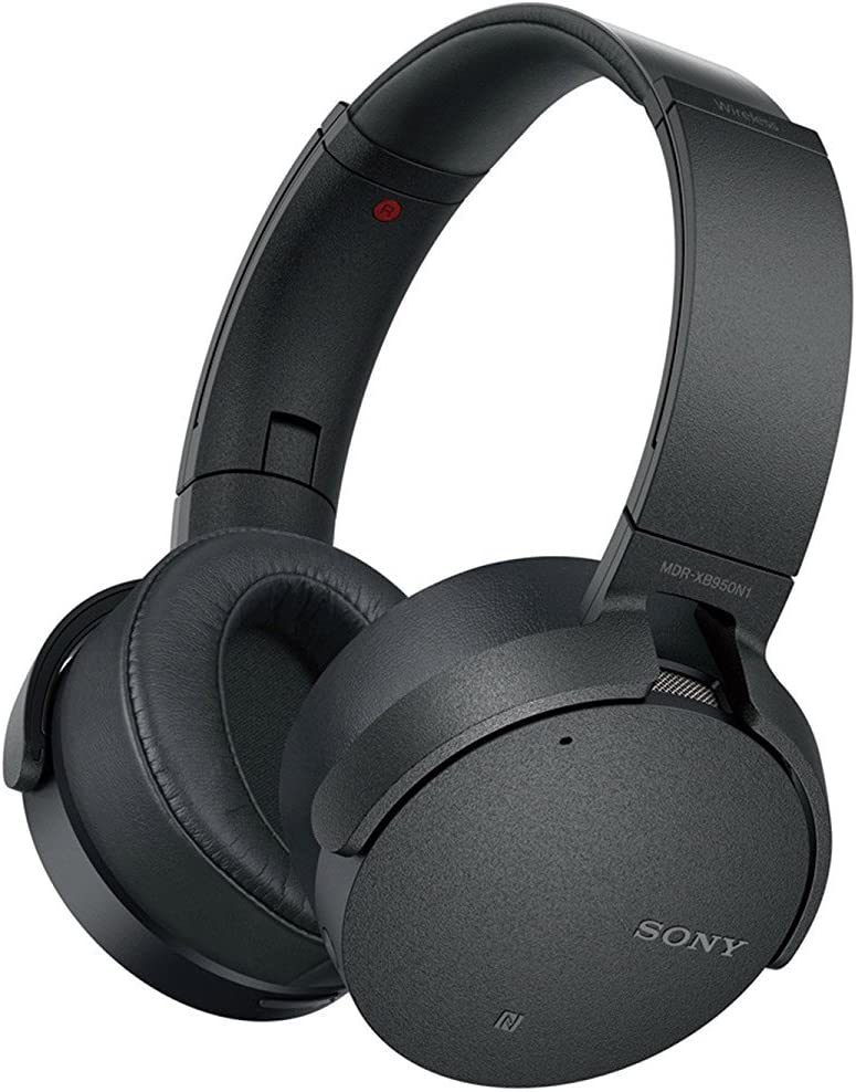 Sony 950N1 Extra Bass Wireless Bluetooth Noise Cancelling Headphones – MDRXB950N1 B Renewed
