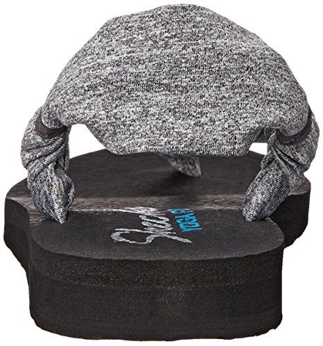 Skechers Meditation Summer Breeze - Sandalias Mujer Gris - gris (gris)