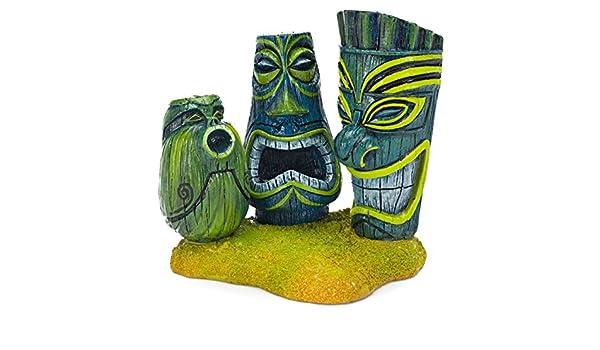 Penn-Plax Tiki de Buscando a Nemo Disney Pixar Acuario Adorno: Amazon.es: Productos para mascotas