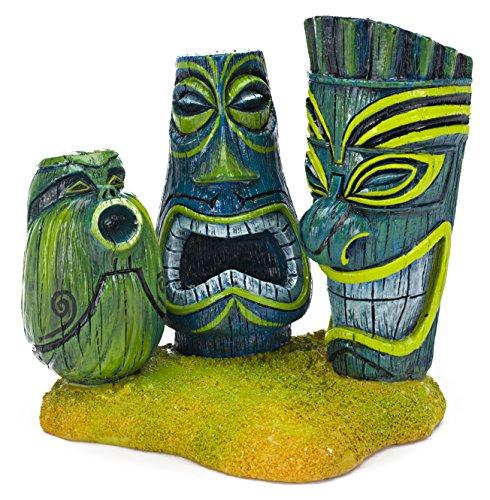 - Penn Plax Tiki Ornament, 3.5