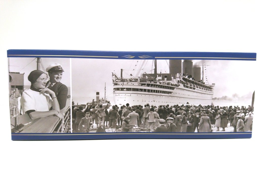 1250 RIF 003 Atlas Transatlantique Le France Collezione Liner of The World 1