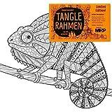 Tangle Rahmen Chameläon 20x20 cm