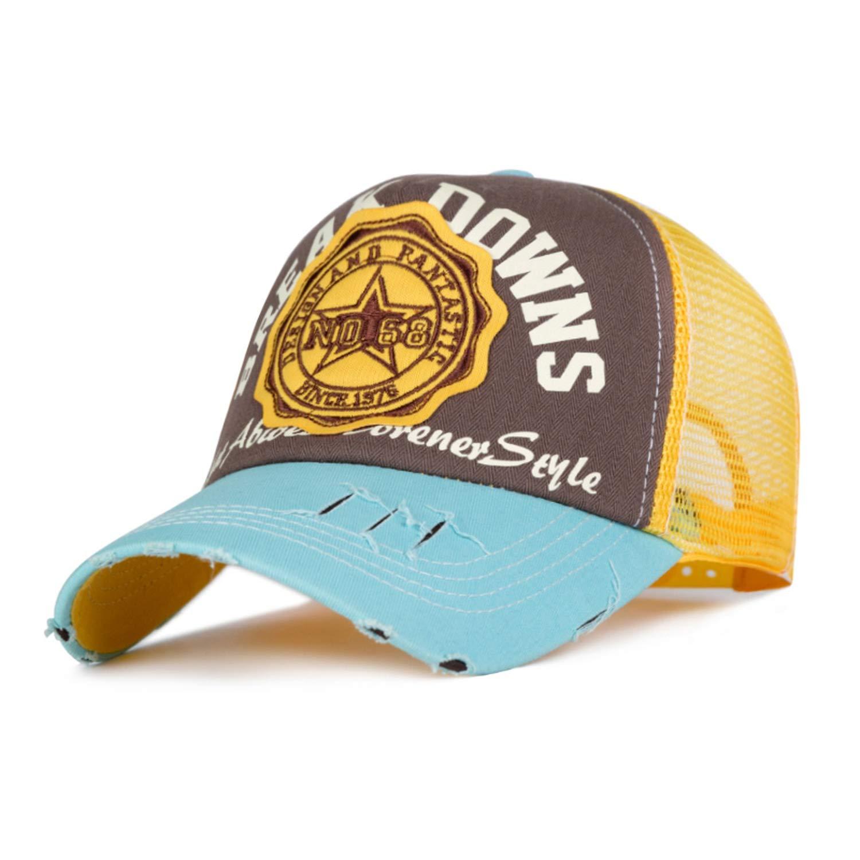 Chad Hope Unisex Bones Men Hip Hop Hats Breathable Mesh Women Baseball Caps Adjustable Cap Embroidery Summer