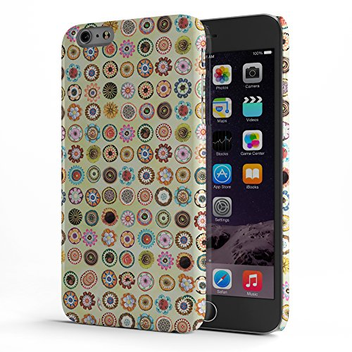 Koveru Back Cover Case for Apple iPhone 6 Plus - Pattern of flowers