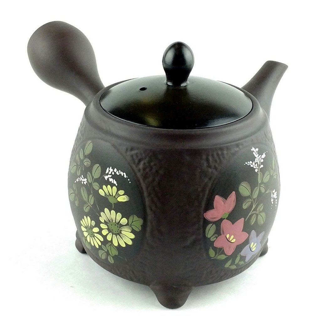 Japanese Teapot Kyusu / Tokoname Kiln / Potter: Shunzu / Hand-made / Sencha