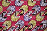 African Print- Ankara Fabric Clothing Designs - Material For Fashion, Dresses, Top, Skirt, Jewelry, Shoes And Bags, Head Wraps, Dashiki Shirt - 6 Yards