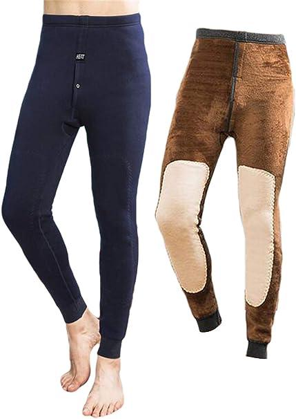 Unterhose Herren Thermo Lange Unterwäsche Winterhose Lang Hose Leggings M-XL NEU