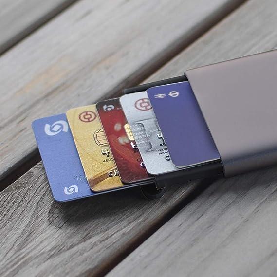 Amazon.com: Miiiw - Funda protectora para tarjetas de ...