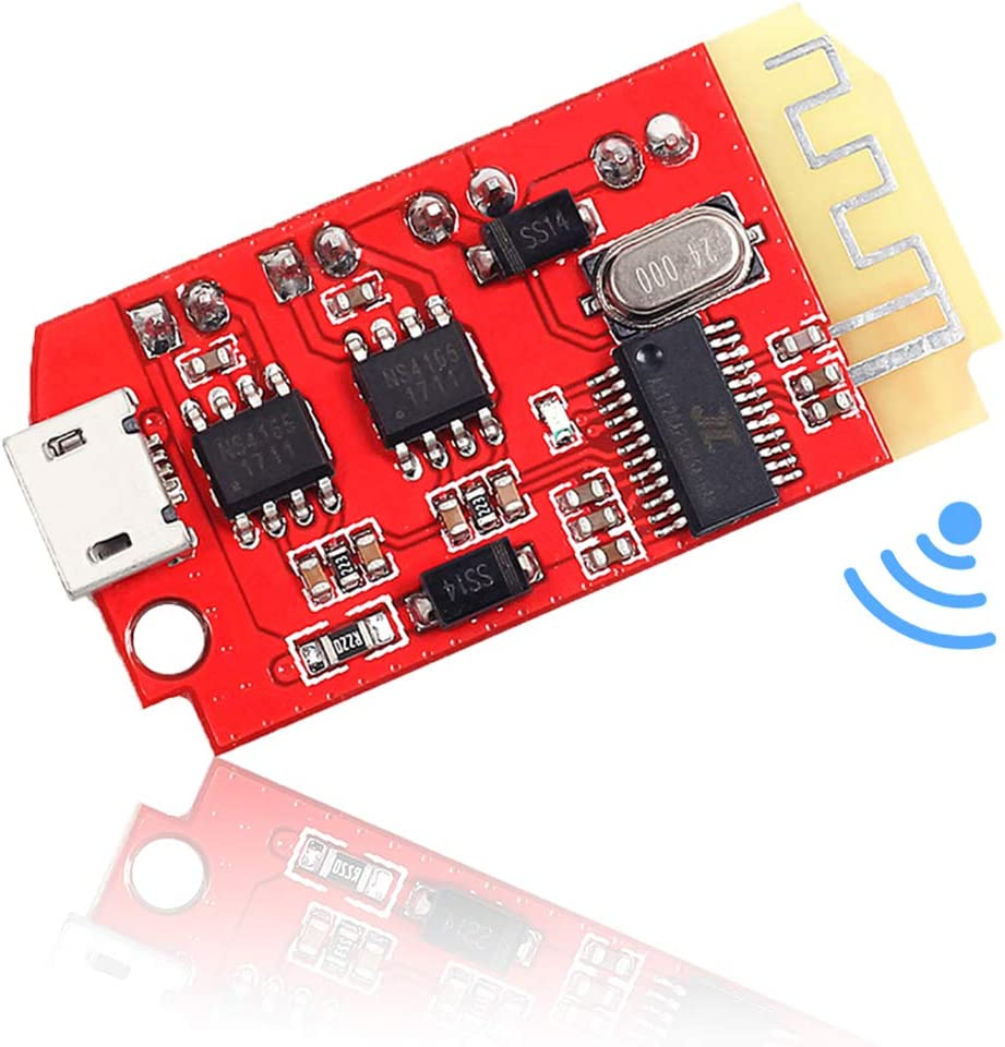 Wireless Bluetooth Stereo Audio Receiver Module 2 Channel AMP Amplifier Board 5V