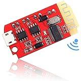 Icstation Bluetooth Receiver Board BT 5.0 Stereo Audio Amplifier 2x5W Mini Power Amp Module 3.7-5V for DIY Wireless Speaker