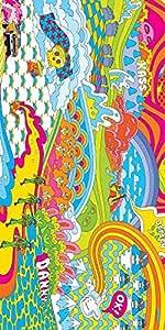 Snoogg Viaje Hippie 2852 Diseñador Protectora Volver Funda Para El Samsung Ga...