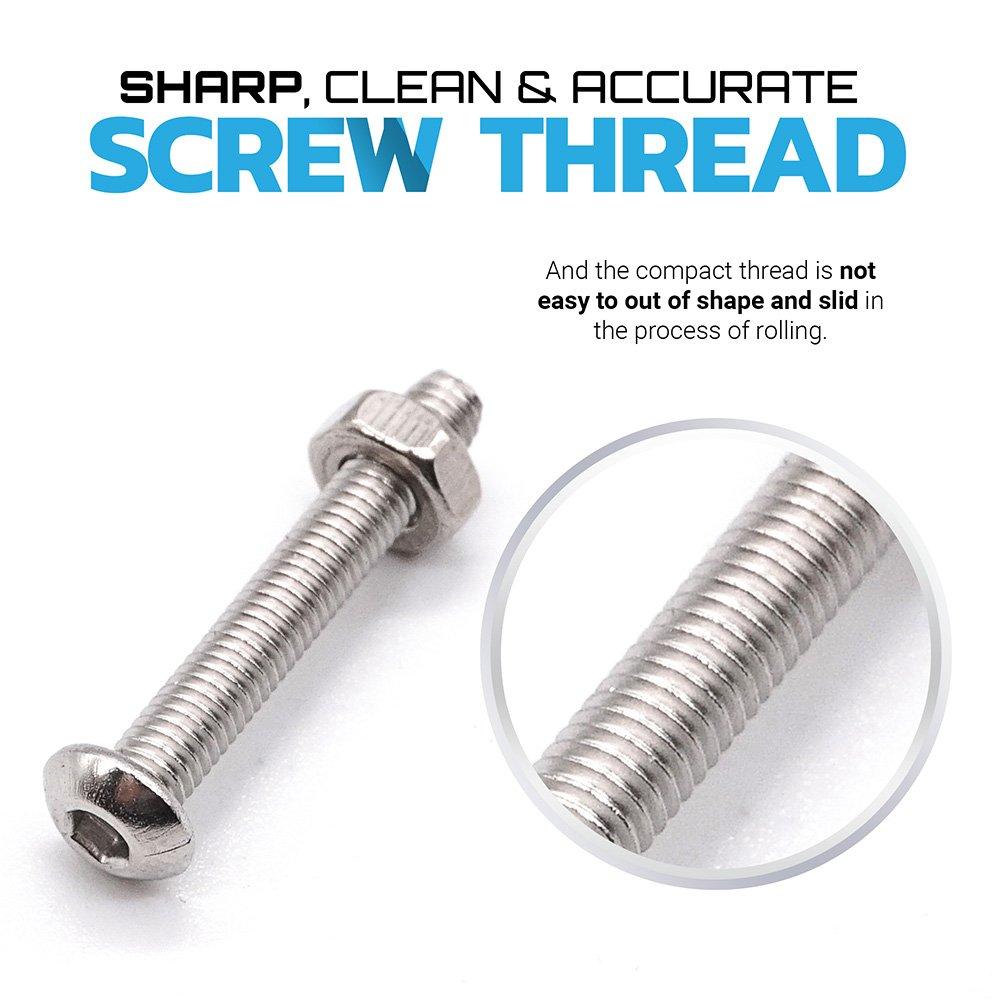 304 stainless steel screw and nut 515pcs m3 m4 m5 hex socket head 304 stainless steel screw and nut 515pcs m3 m4 m5 hex socket head cap screws assortment set kit amazon nvjuhfo Images