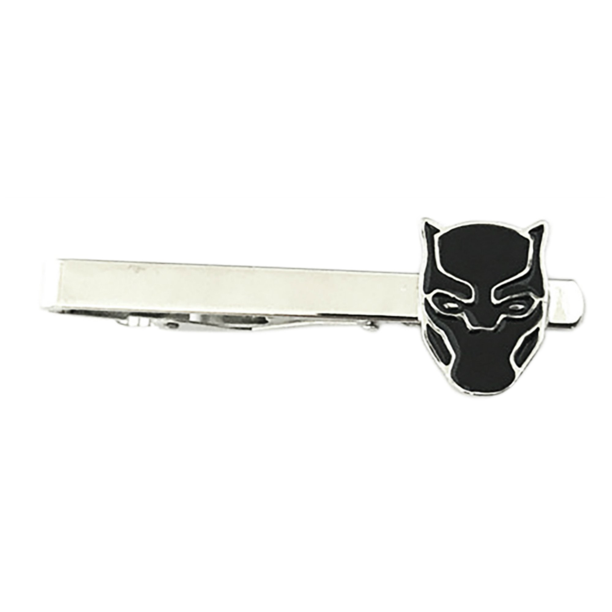 Outlander Marvel Comics - The Black Panther - Tiebar Tie Clasp Wedding Superhero Logo w/Gift Box