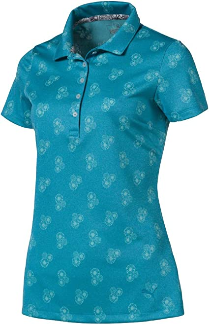 PUMA 2019 Burst Into Bloom Polo, Mujer: Amazon.es: Deportes y aire ...