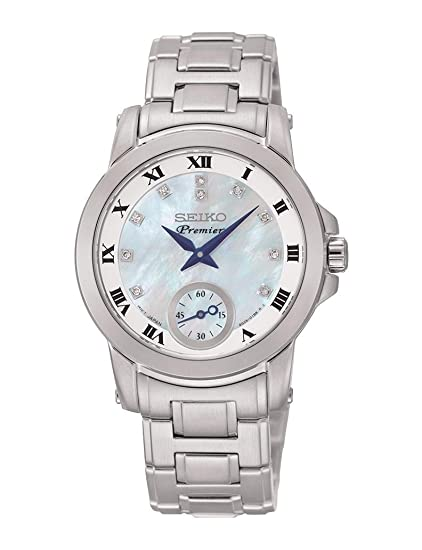 Reloj Seiko Premier Srkz61p1 Mujer Nácar