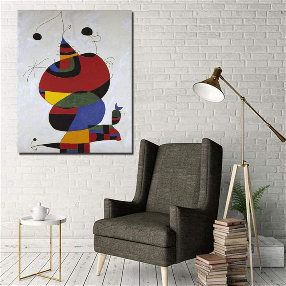 Pablo Picasso Miro Mujer pájaro Estrella Lienzo Pintura Impresiones Sala de Estar decoración del hogar Moderno Arte de la Pared Cartel Arte 50x70 cm sin Marco