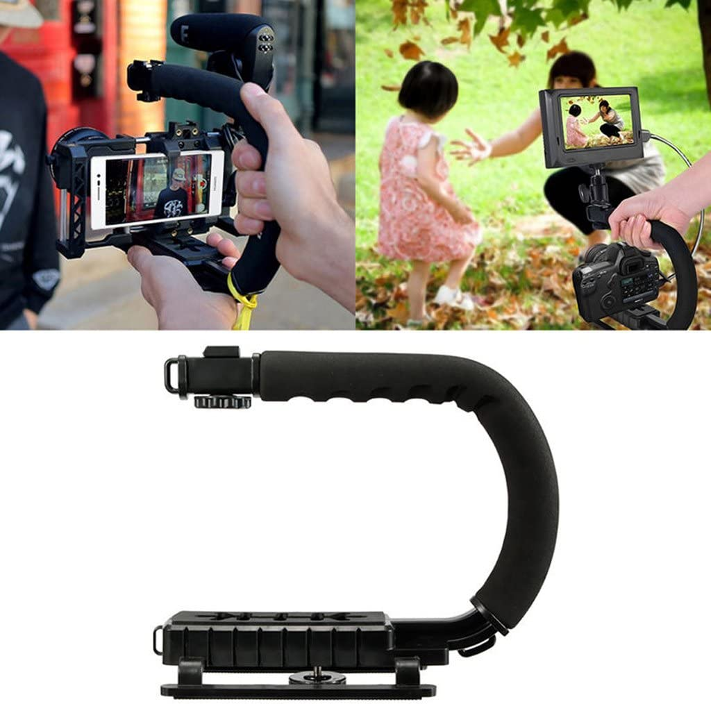 Pro Video Stabilizing Handle Grip for Leica Digilux 1 Vertical Shoe Mount Stabilizer Handle