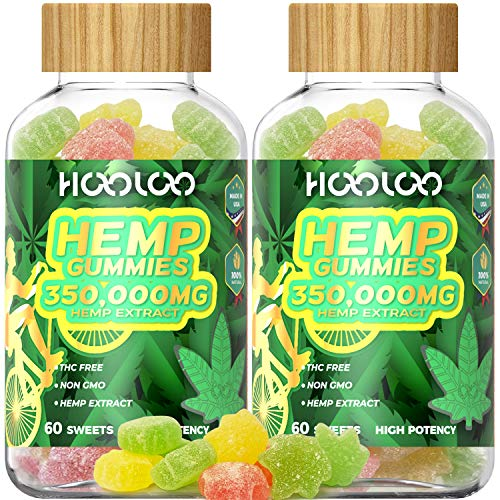 Hemp-Gummies-HOOLOO-350000MG-Fruity-Hemp-Gummy-for-Relaxing-Reduce-Stress-Anxiety-Sleep-Better-2-Pack-Natural-Hemp-Extract-Gummies-Made-in-USA