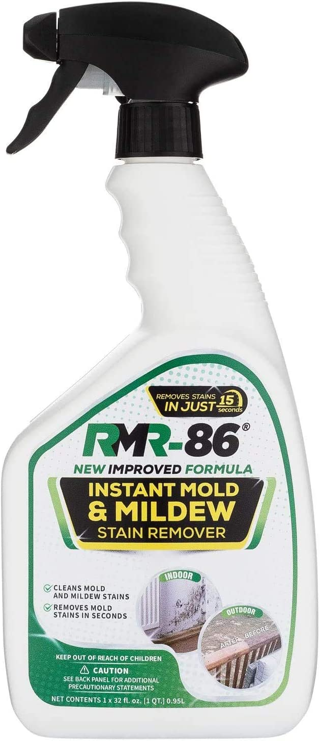 Amazon Com Rmr 86 Instant Mold And Mildew Stain Remover Spray Scrub Free Formula Bathroom Floor And Shower Cleaner 32 Fl Oz Health Personal Care
