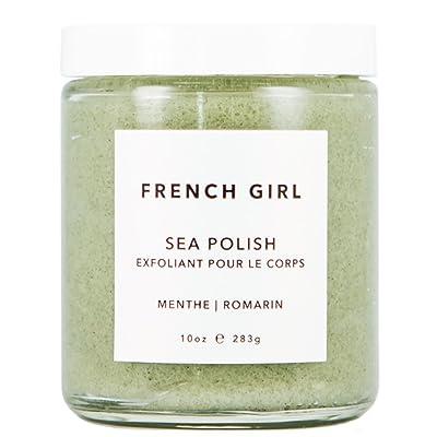 French Girl Organics - Organic/Vegan Sea Salt Body Polish (Menthe/Romarin)