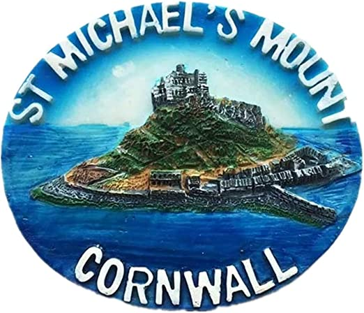 Large SAINT MICHAEL/'S MOUNT Cornwall England UK FRIDGE MAGNET