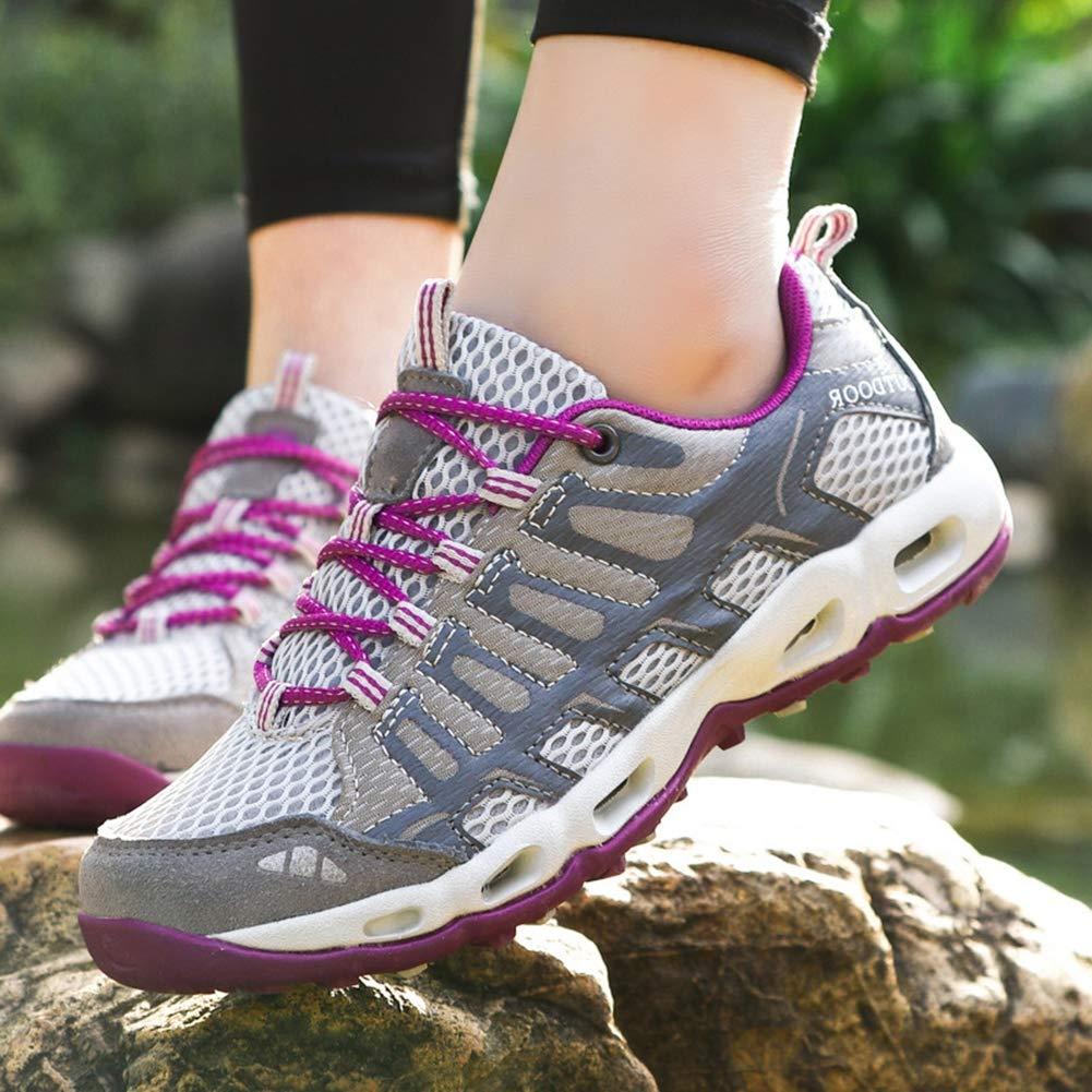 Insun Damen Wanderschuhe Trekking Schuhe Wasserabweisende Wasserabweisende Wasserabweisende und Atmungsaktive Walkingschuhe mit Anti Rutsch Sohle 5ce05e
