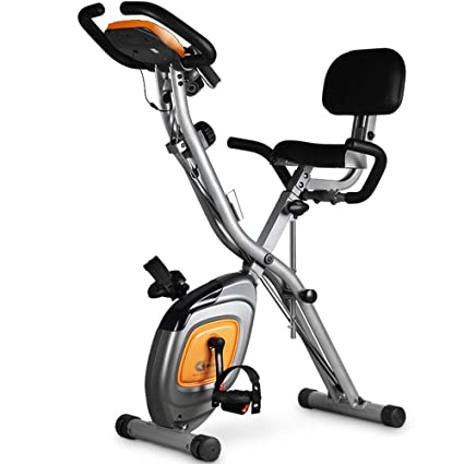 DRLGC Klapp Heimtrainer, Indoor Mute Pedal Klapprad, Indoor