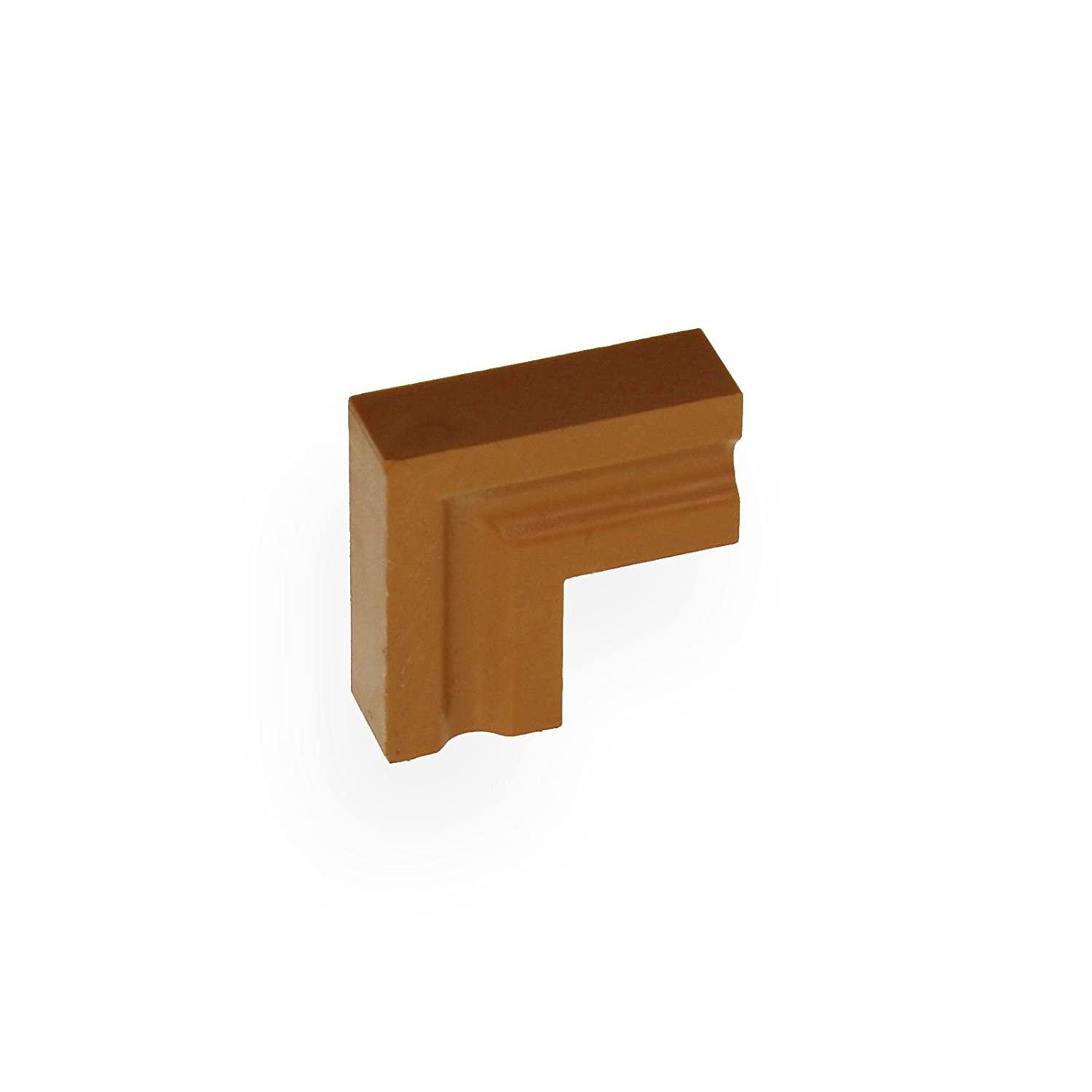 Roomline Architrave Internal Corner Joint - Caramel Eurocell