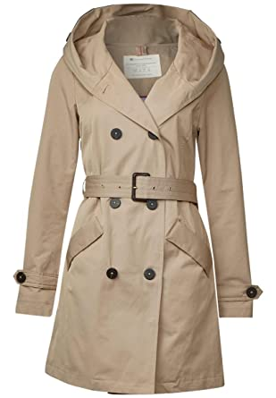 the latest 57c02 a8f3f Street One | Trenchcoat mit Kapuze | Farbe: dusty sand 11188 ...