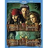 Pirates des Caraïbes : Le Coffre du mort (Bilingual Blu-ray Combo Pack) [Blu-ray + DVD]