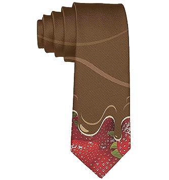 Corbata de frutas de confitería de chocolate derretido de fresas ...