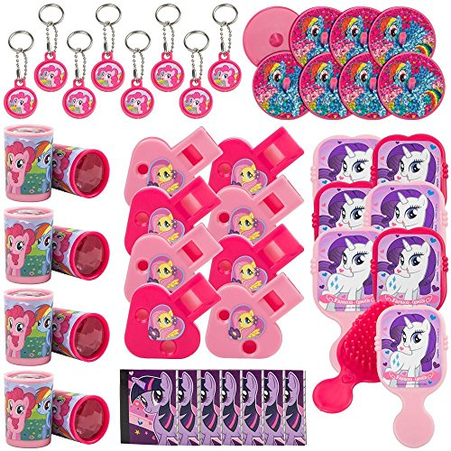 Amscan My Little Pony 'Friendship is Magic' 48pc Favor Kit (1ct)