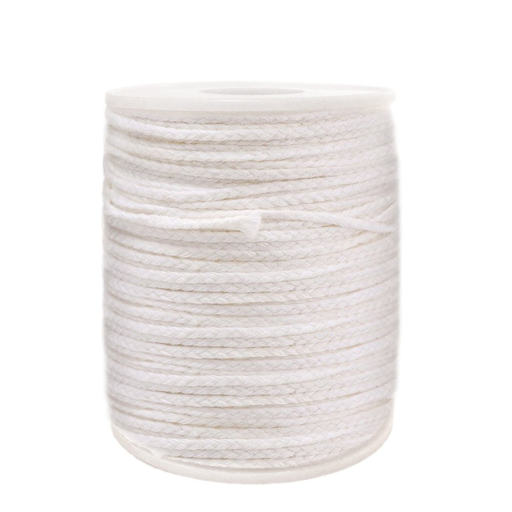 EricX Light #24PLY/FT Braided Wick: 200 Foot Spool.Candle Wicks For Candle Making,Candle DIY CDW-0001-200