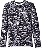 fruit of the loom base layer - Fruit of the Loom Men's Premium Performance Baselayer Top, Ripped Camo Grey Stone, X-Large