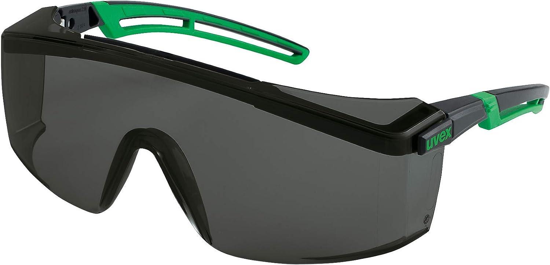 Uvex Astrospec 2.0 Infraradur Plus - Gafas Protectoras para Soldadura, Color Negro y Verde