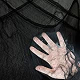 Heyzeibo 315 x 79 Inch Halloween Black Creepy Cloth