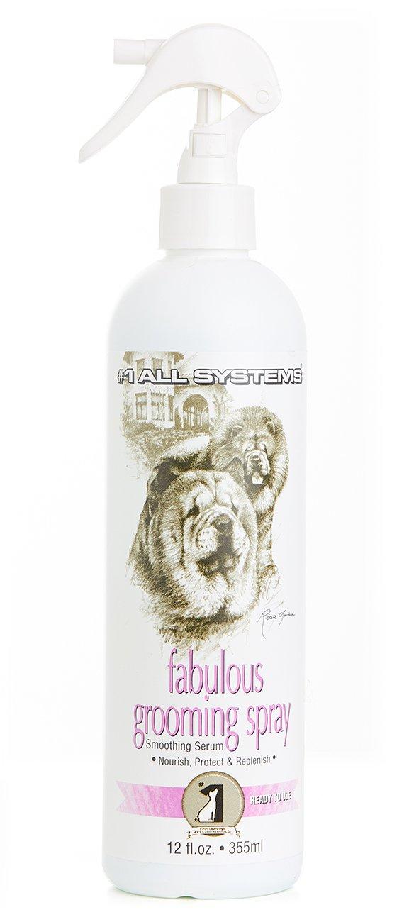 """#1 All Systems - Lozione Rifinitura """"Fabulous Grooming Spray"""" Per Cani E Gatti"""
