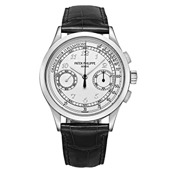 Amazon Com Patek Philippe Complications Chronograph Silvery White