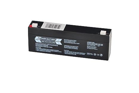 Batería VDS para sistemas de alarma (BMA, EMA, ÜMA, ELA) de ...