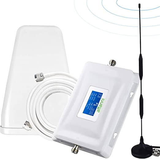 Voice with Antennas Verizon Cell Phone Signal Booster 4G LTE Cell Signal Booster Verizon Cell Phone Booster Repeater Band13 Verizon Cell Phone Signal Amplifier Home Verizon Signal Booster Boost Data