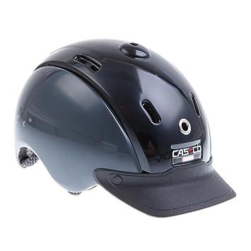 Casco Reithelm Nori - Casco de hípica (ajustable)  , color negro / gris,