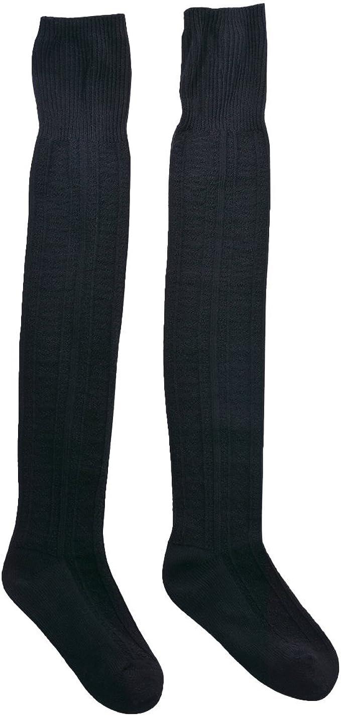 WhiFan High Sock,Donne Stripe Sport sopra ginocchio lunghezza caviglia calze tubo Socks