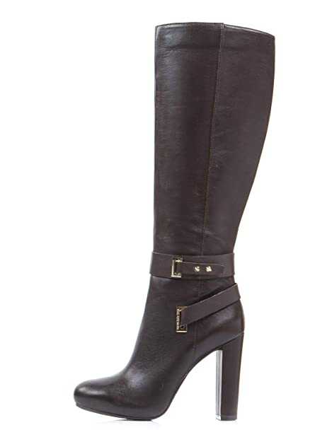 GUESS Botines para Mujer Zapatos de Tacón Alto 37 EU Marrón: Amazon.es: Zapatos y complementos