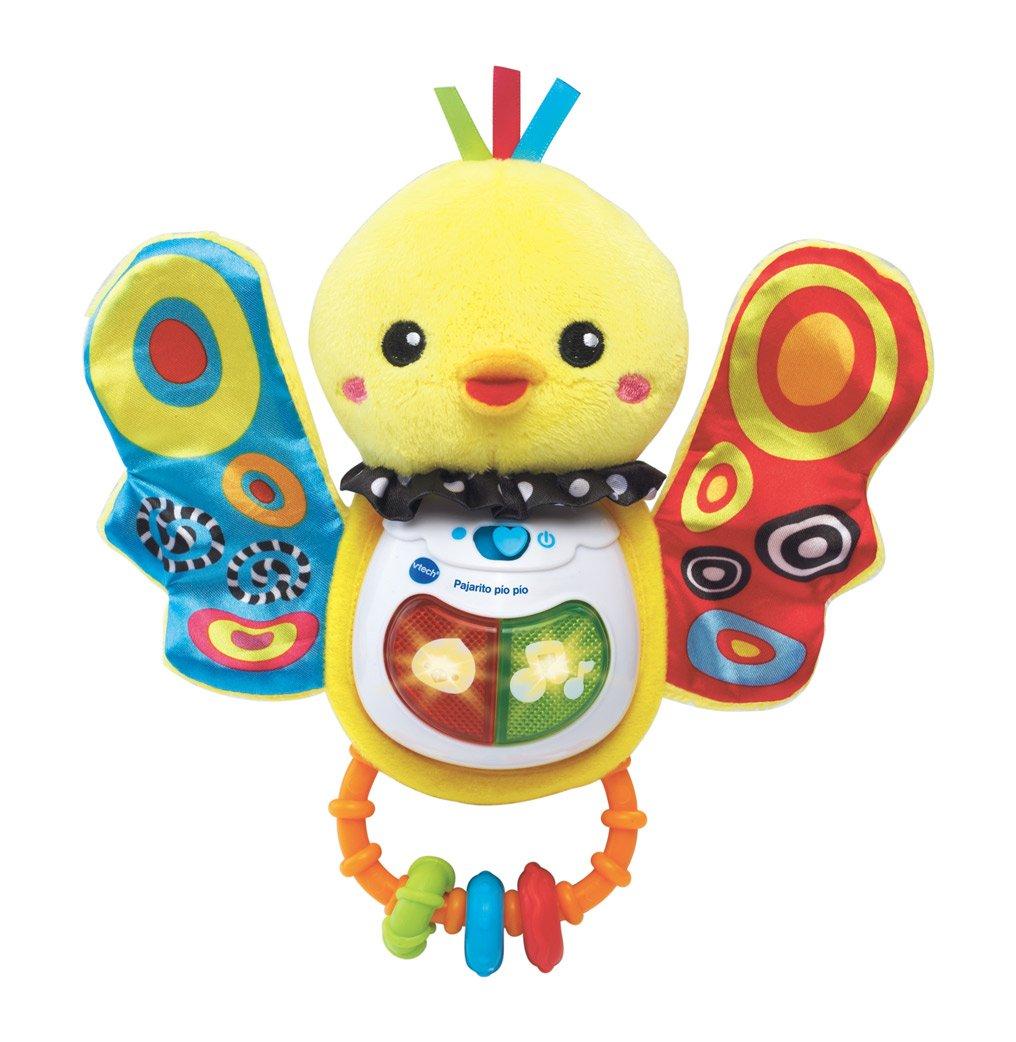 VTech-80-185322 Sonajero Pajarito pío con Voz, Color (3480-185322: Amazon.es: Juguetes y juegos