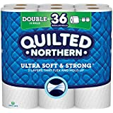 Quilted Northern Ultra Soft & Strong Toilet Paper 18 roll 164 sheet 328 SQFT