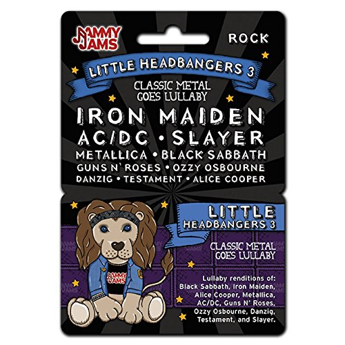 Onesie Slayer (Jammy Jams Little Headbangers Goes Lullaby Download Card, Classic Metal)