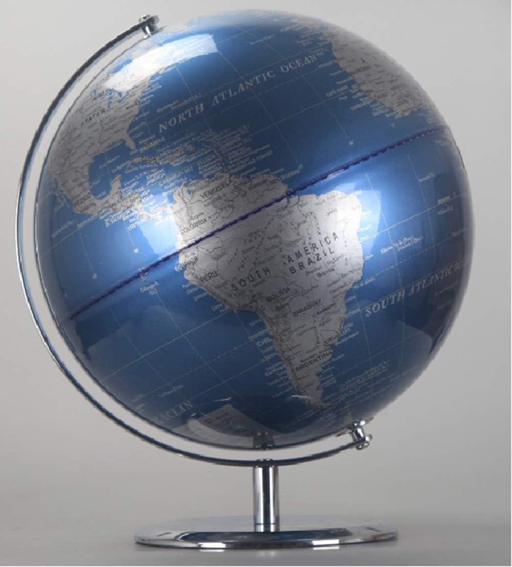 FACAZ Globos del Mundo 360 ° de rotación - Globo del Mundo Educativo para Adultos Globos geográficos Discovery World Globe Juguete Educativo para niños - Juguete de Aprendizaje de