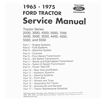 ford 5000 engine manual