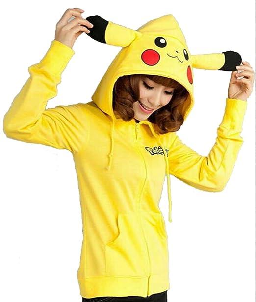 Yidi Womens Cute Pikachu Sweatshirt (XL)  Amazon.ca  Clothing ... 1b0c86ee3